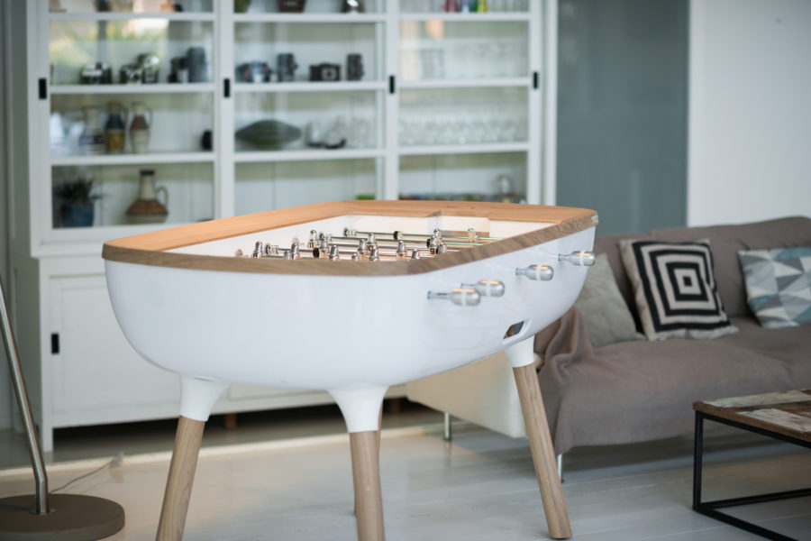 Design foosball table - The Pure - Toulet