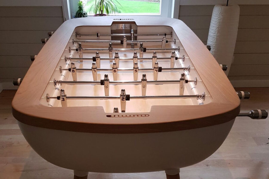 The Pure Design foosball table