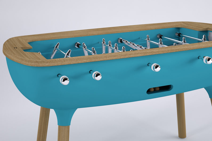 Blue foosball table - The Pure - Debuchy By Toulet