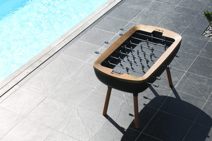The Pure : outdoor foosball table by Toulet