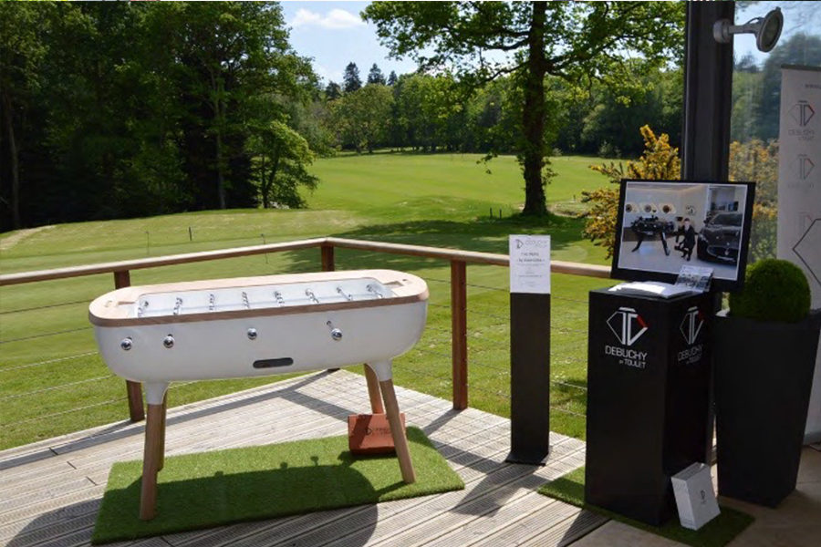 design and outdoor foosball The Pure - Debuchy By Toulet