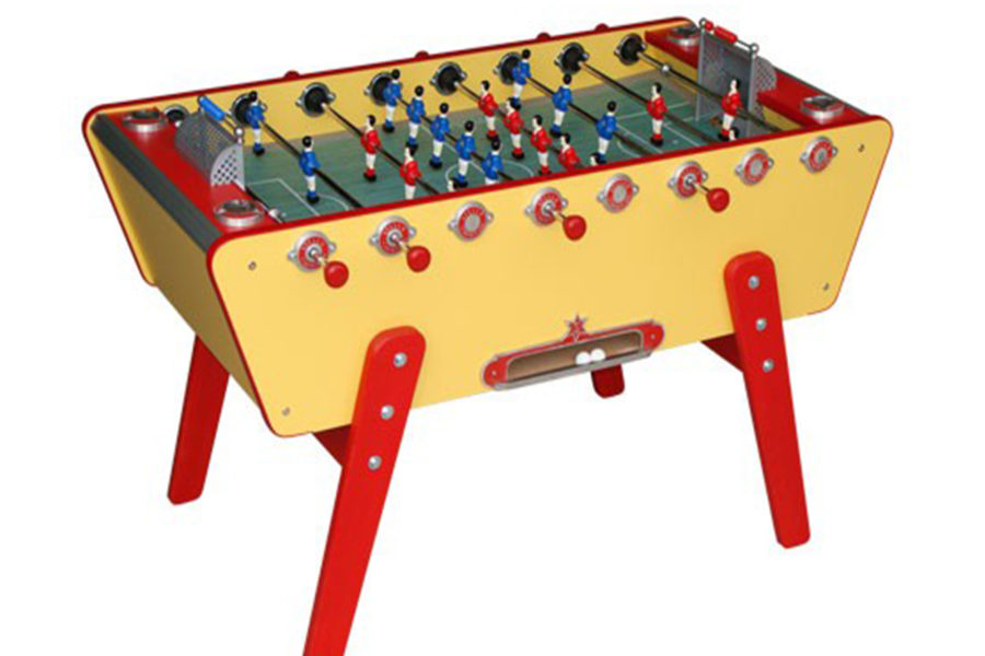 Foosball table Stella - Yellow