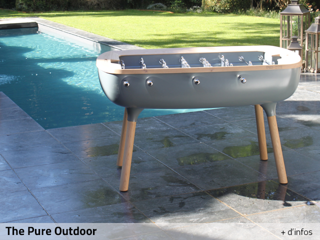Outdoor Foosball Debuchy By Toulet