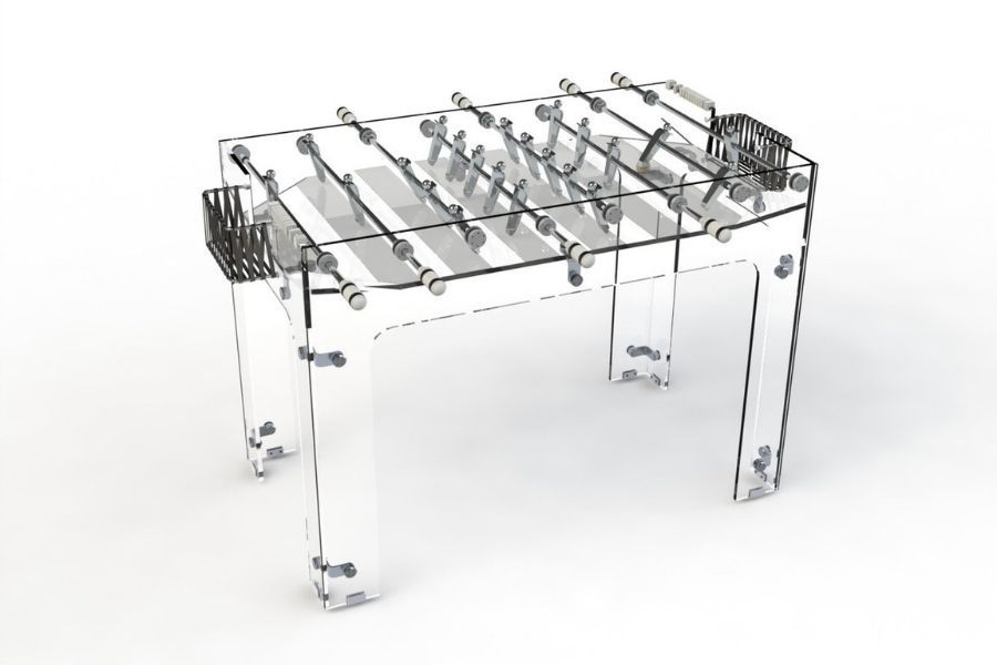 Carat - foosball - Glass - Debuchy By Toulet
