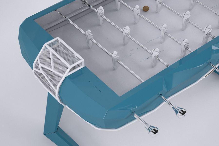 Foosball design Debuch - Debuchy By Toulet - blue