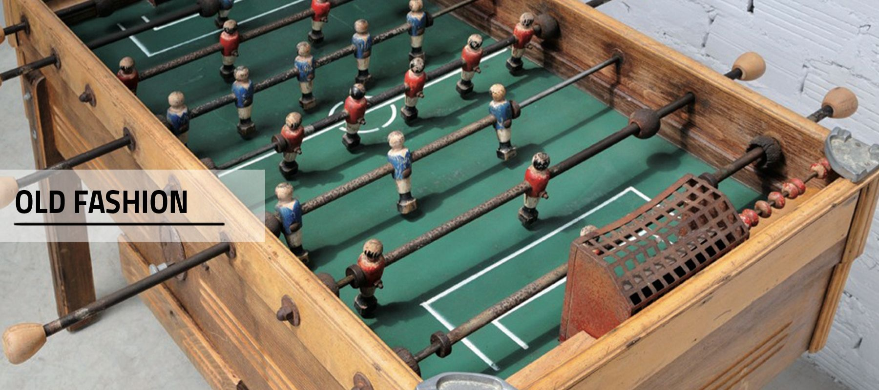 Old foosball table Debuchy By Toulet Collection