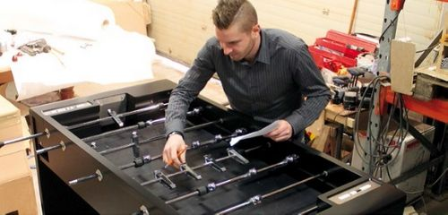 Quality control foosball - By Toulet