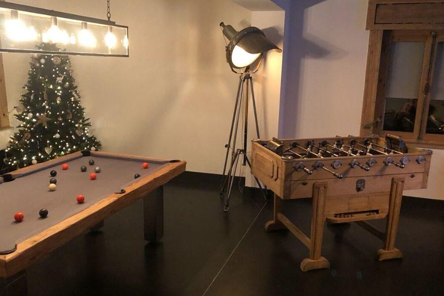 Table football - old - restored - vintage - Foosball toulet