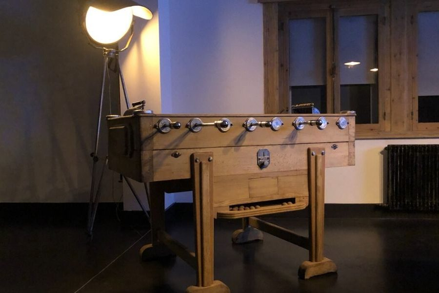 Table football - old - restored - vintage - Toulet