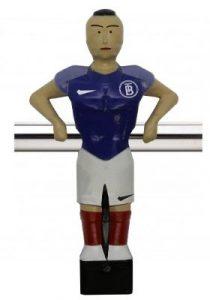 Custom foosball player - soccer team