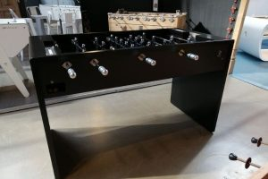 Buy a modern black foosball table T11 - Debuchy By Toulet