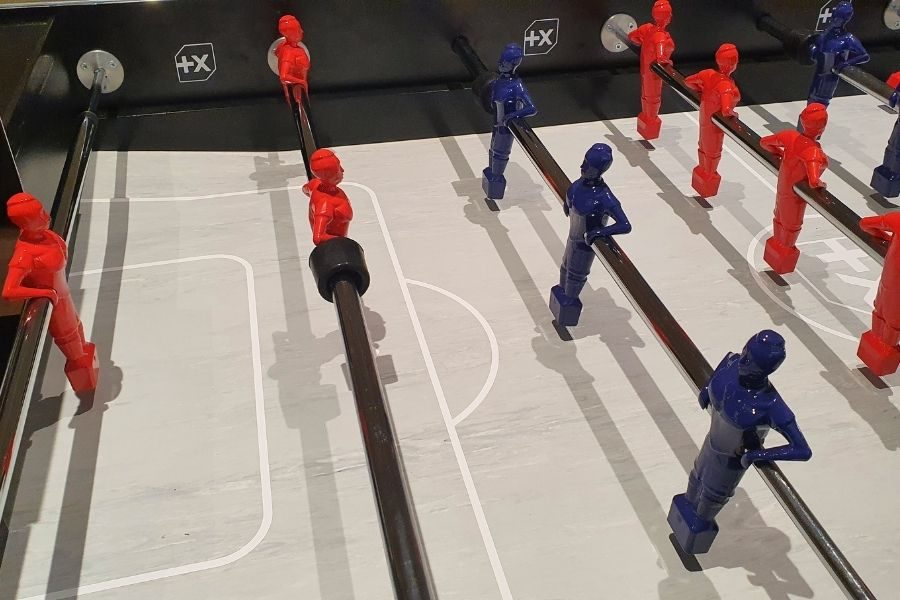 Foosball table personalized Specialist Urban Debuchy By Toulet