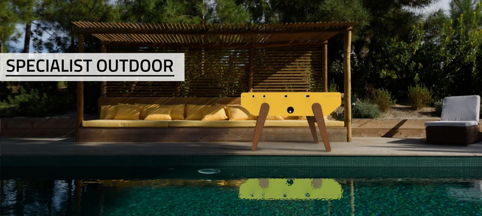 Buy outdoor foosball table SPecialist - Debuchy By Toulet