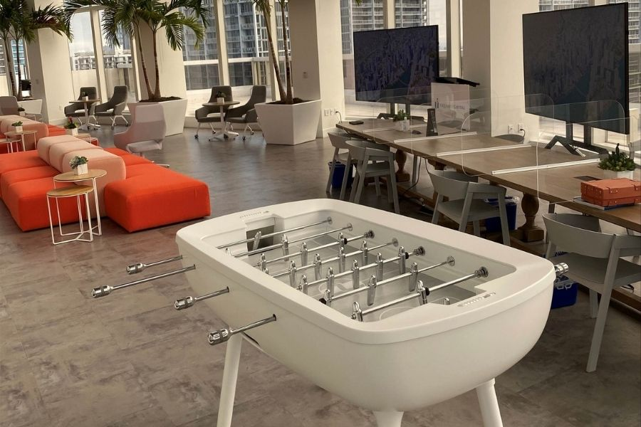 design foosball table The Pure Miami - Debuchy By Toulet