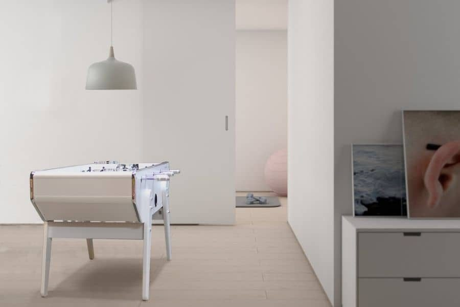 Modern foosball table white - Specialist - Debuchy By Toulet
