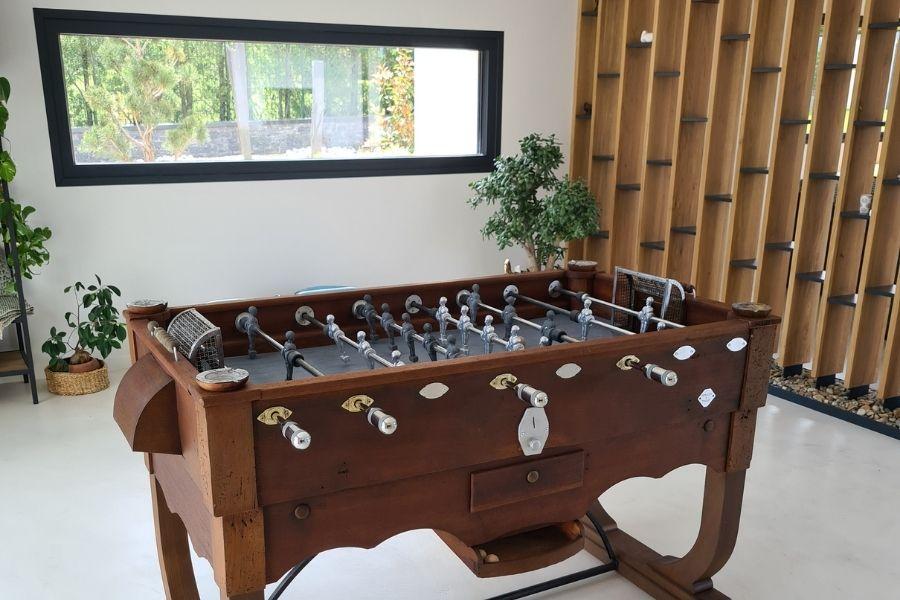 Restoration Swinnen table football - Debuchy By Toulet