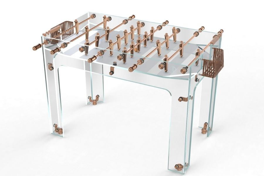 Foosball glass Carat - Debuchy By Toulet