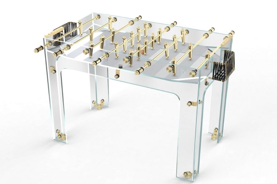 Foosball table glass gold - Carat - Debuchy By Toulet