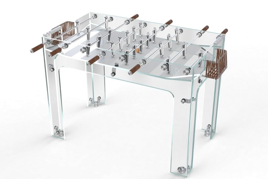 Foosball table glass leather - Carat - Debuchy By Toulet