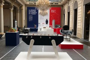 Republifoot foosball table on Elysee - Made In France