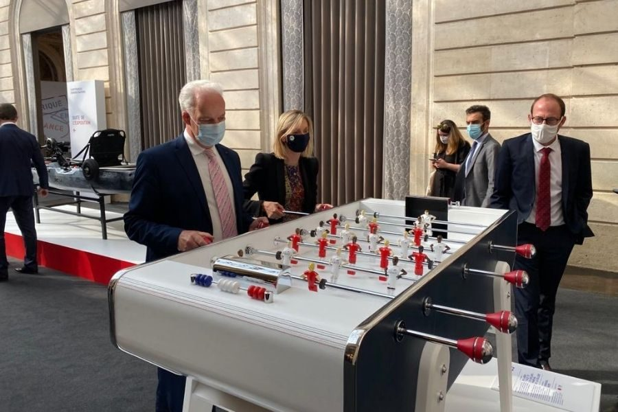 Republifoot foosball table Great Exhibition Made In France - Debuchy By Toulet