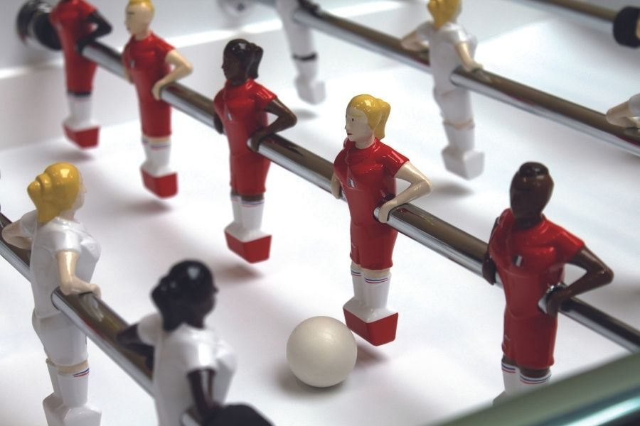 The Republifoot foosball table mixte Players - Debuchy By Toulet
