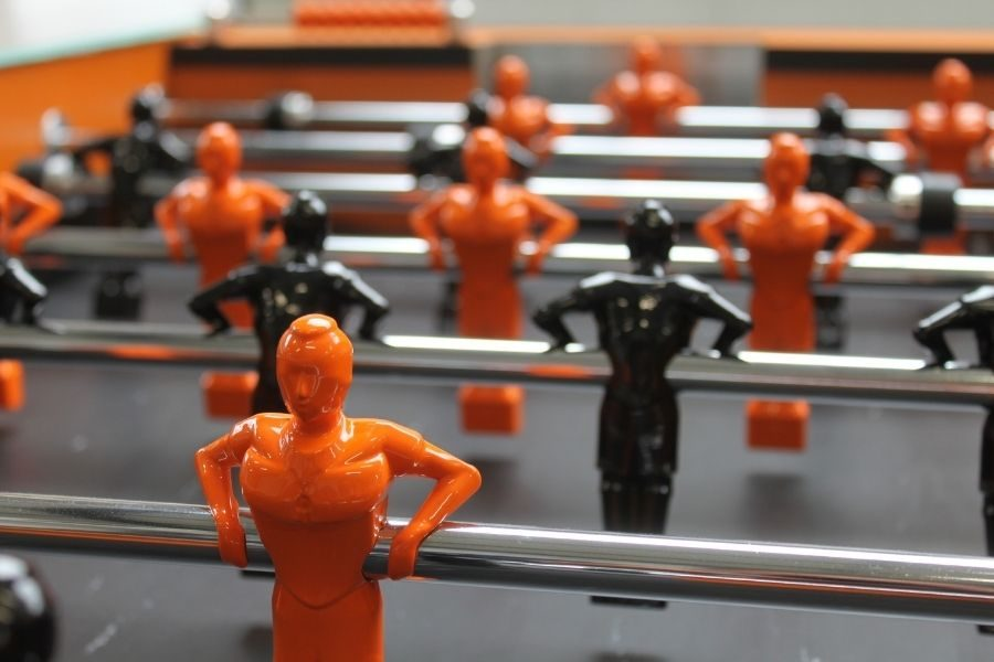 Custom players foosball table Specialist - Debuchy By Toulet
